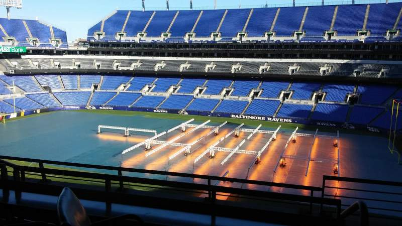 M&T Bank Stadium, section: Suite