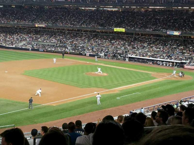 Seating view for Yankee Stadium Section 228 Row 12 Seat 4