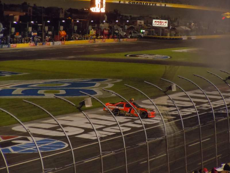 Seating view for Charlotte Motor Speedway Section Chry B Row 22