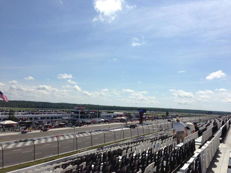Seating view for Pocono Raceway Section NM Row 37 Seat 14