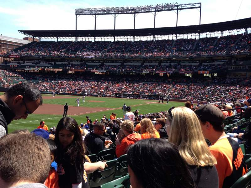 Seating view for Oriole Park at Camden Yards Section 62 Row 18 Seat 15
