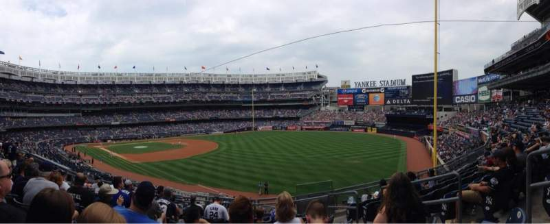 Seating view for Yankee Stadium Section 210 Row 8 Seat 4