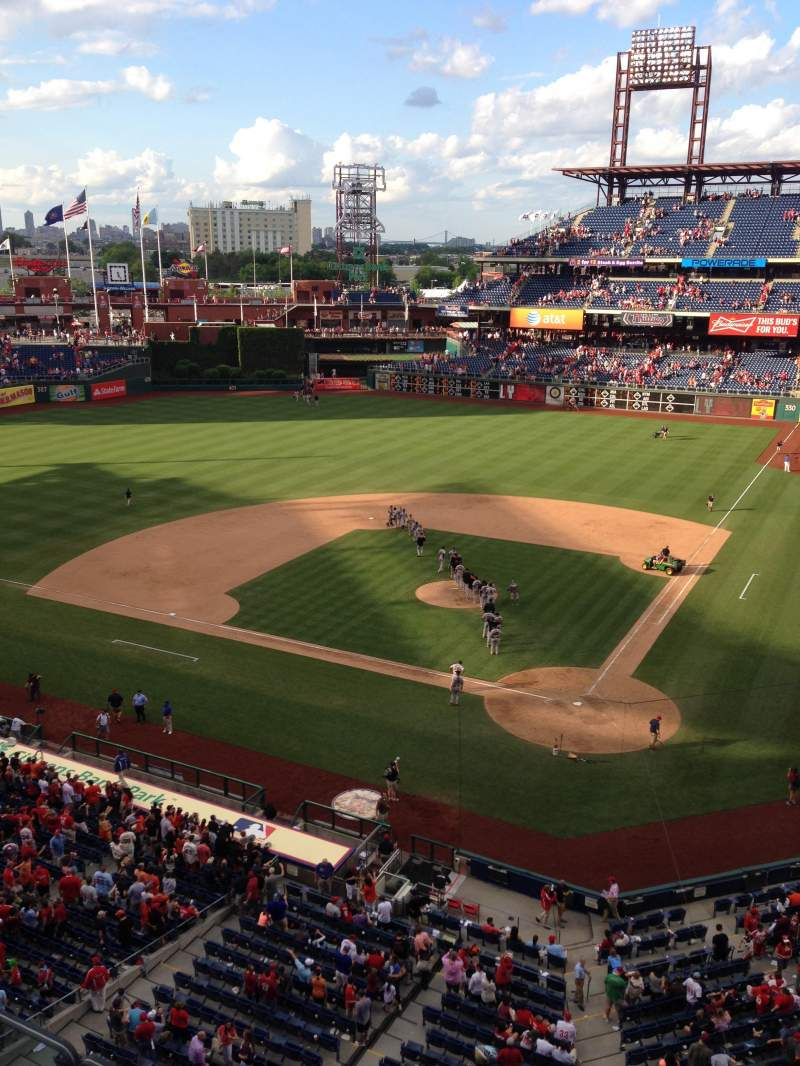 Citizens Bank Park, section: 323, row: 2, seat: 7