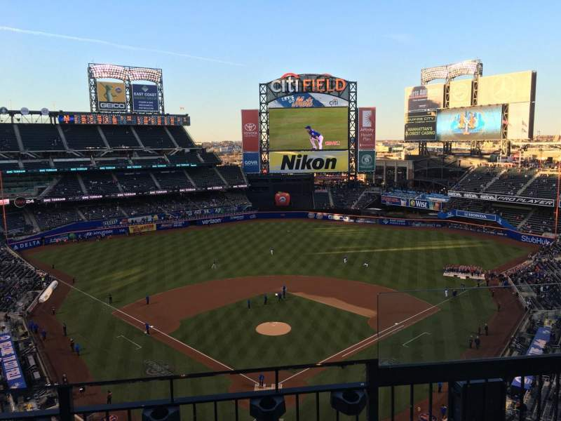 Seating view for Citi Field Section 514 Row 3 Seat 14
