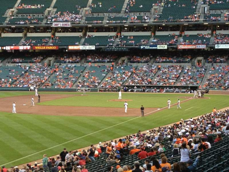 Seating view for Oriole Park at Camden Yards Section 73 Row 7 Seat 5