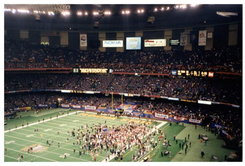 Seating view for Mercedes-Benz Superdome Section 648 Row 15 Seat 5-6