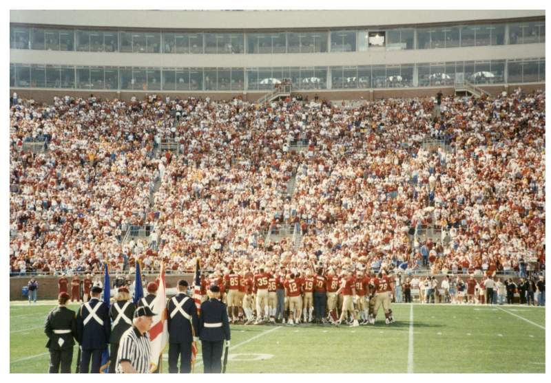 Seating view for Bobby Bowden Field at Doak Campbell Stadium Section 10 Row 1 Seat WC