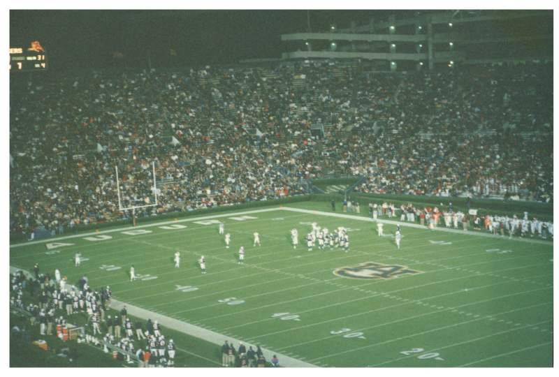 Seating view for Jordan-Hare Stadium Section 12 Row 39 Seat 6