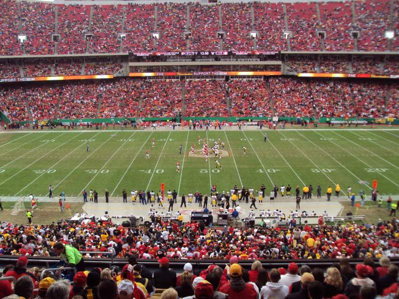 Seating view for Arrowhead Stadium Section 201 Row SUITE Seat SUITE