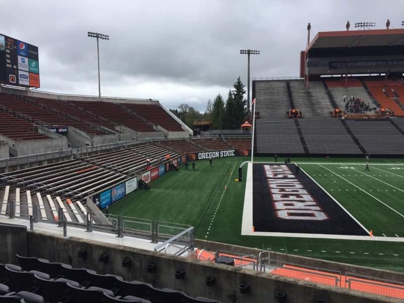 Reser Stadium, section: 120, row: 20, seat: 10