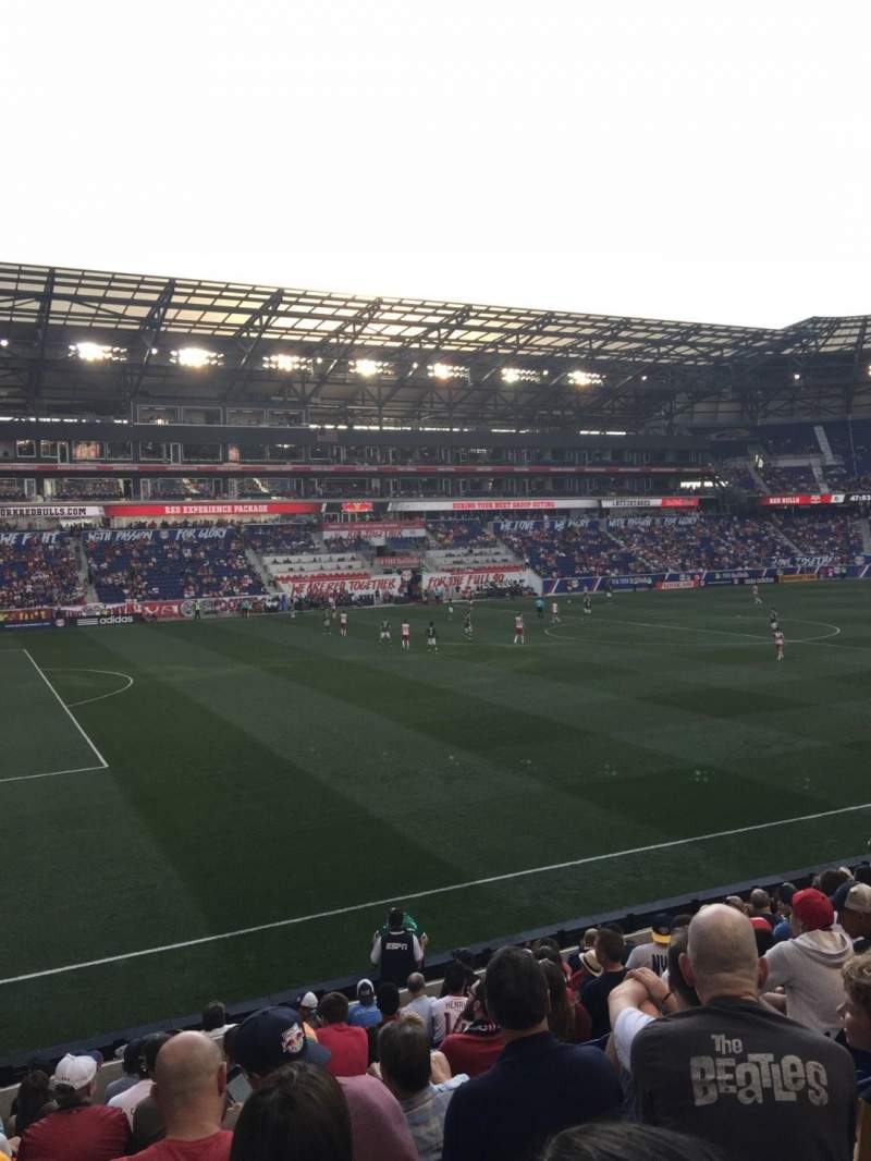 Seating view for Red Bull Arena Section 128 Row 12 Seat 26
