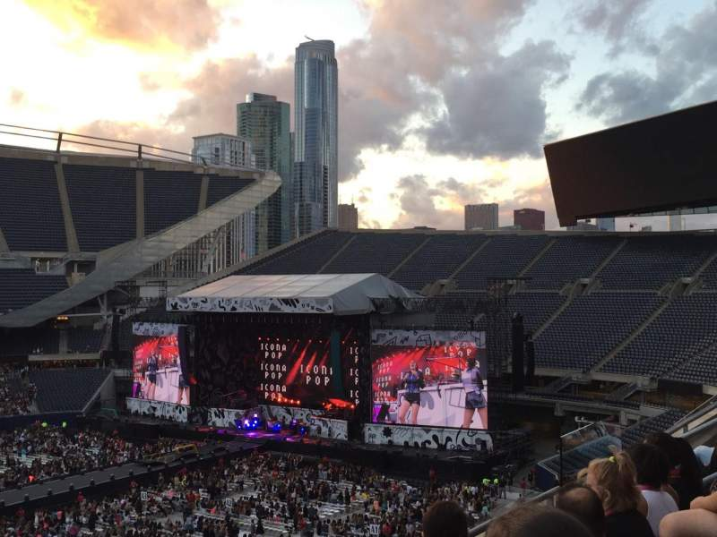 Seating view for Soldier Field Section 310 Row 3 Seat 7