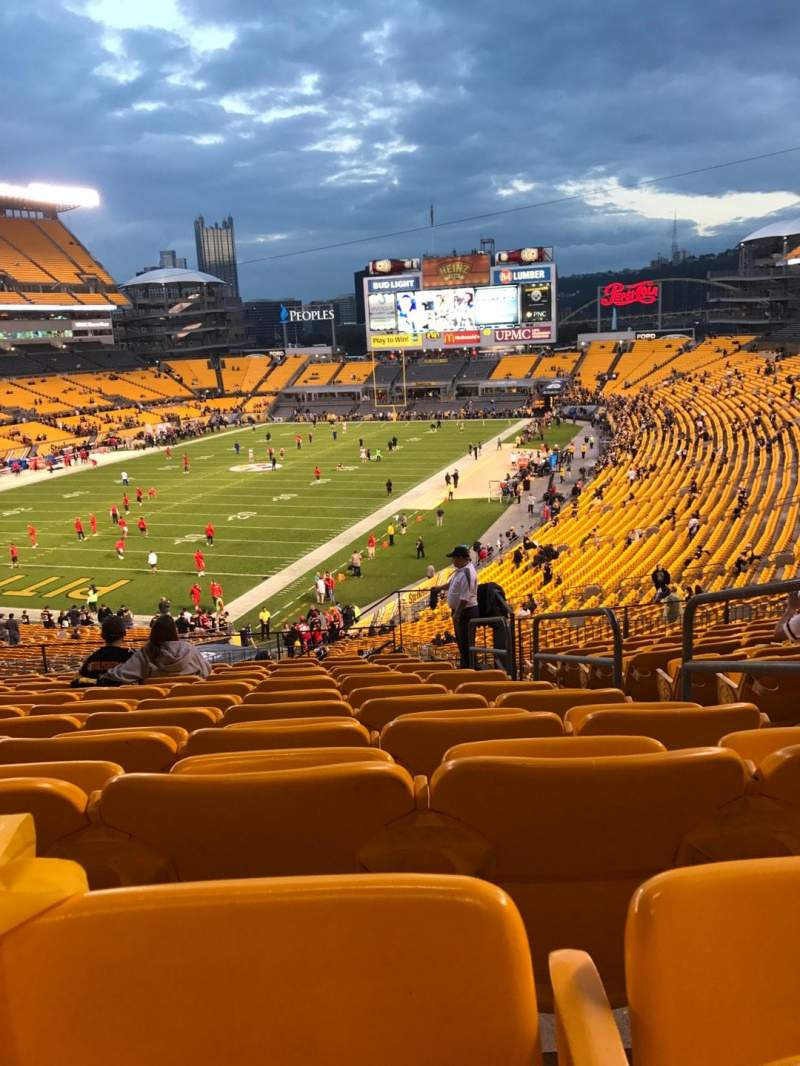 Seating view for Heinz Field Section 226 Row N Seat 3