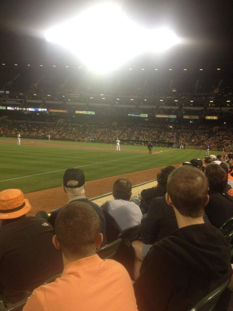 Seating view for Oriole Park at Camden Yards Section 66 Row 3 Seat 12