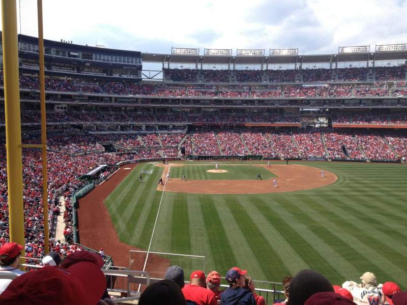 Seating view for Nationals Park Section 237 Row G Seat 18
