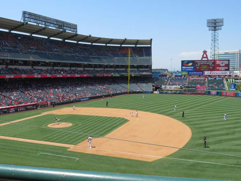 Seating view for Angel Stadium Section C337 Row A Seat 10