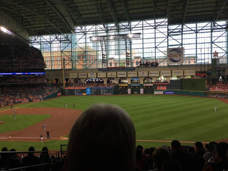 Seating view for Minute Maid Park Section 229 Row 10 Seat 3