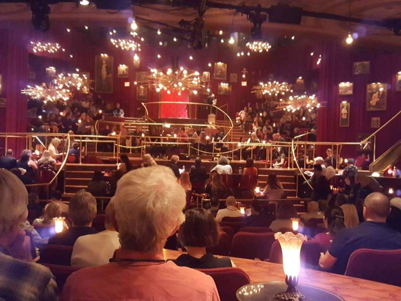 Seating view for Imperial Theatre Section Orchestra C Row M Seat 107