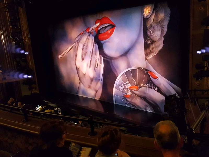 Seating view for Nederlander Theatre Section Mezzanine R Row C Seat 24