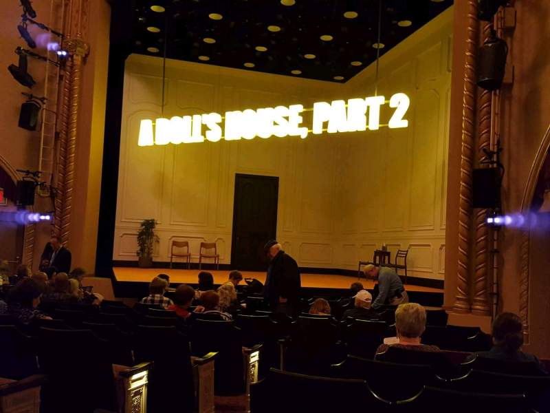 Seating view for John Golden Theatre Section Orchestra R Row M Seat 6
