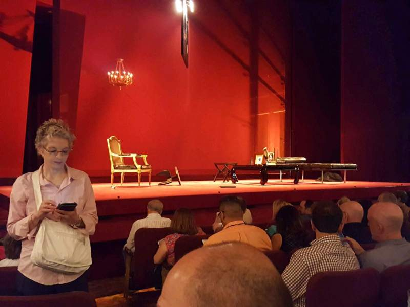 Seating view for Ethel Barrymore Theatre Section Orchestra L Row E Seat 3