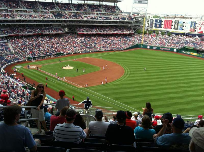 Seating view for Nationals Park Section 226 Row U Seat 20