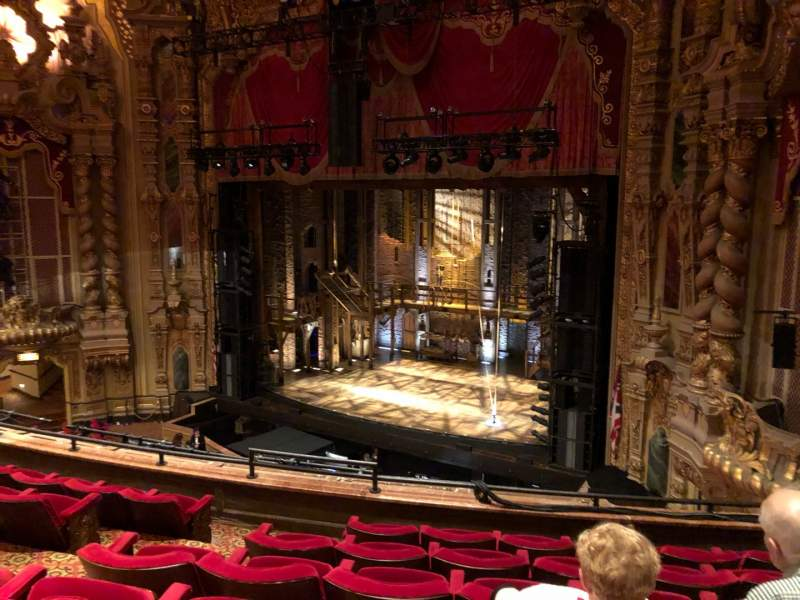 Seating view for Ohio Theatre (Columbus) Section Loge A Row F Seat 12