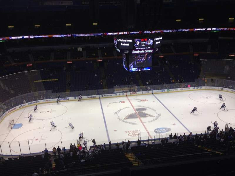 Seating view for Scottrade Center Section 304 Row G Seat 6