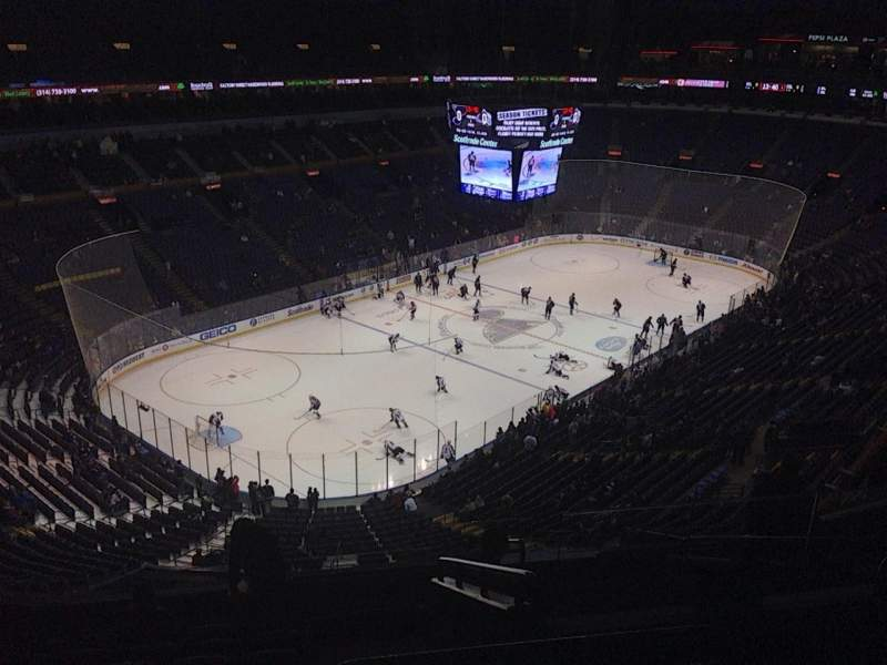 Seating view for Scottrade Center Section 308 Row K Seat 3