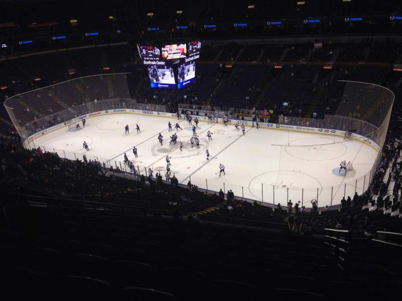 Seating view for Scottrade Center Section 317 Row M Seat 4