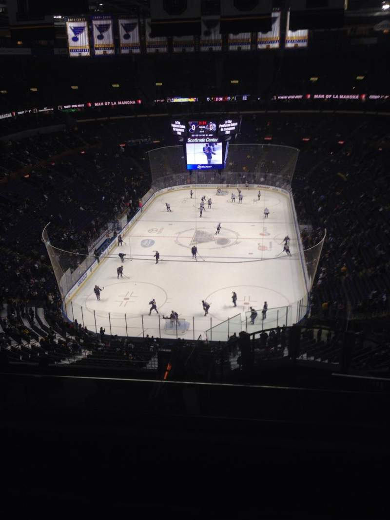 Seating view for Scottrade Center Section 328 Row N Seat 4