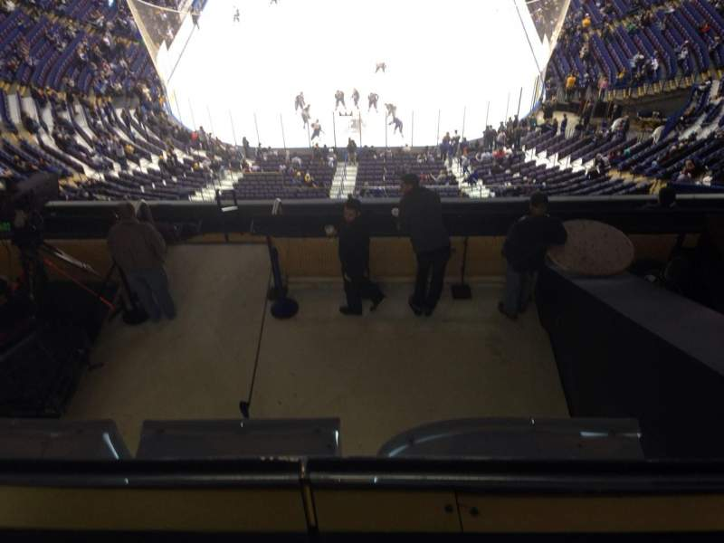 Seating view for Scottrade Center Section 329 Row L Seat 2