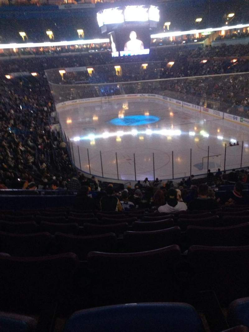 Seating view for Scottrade Center Section 333 Row C Seat 12