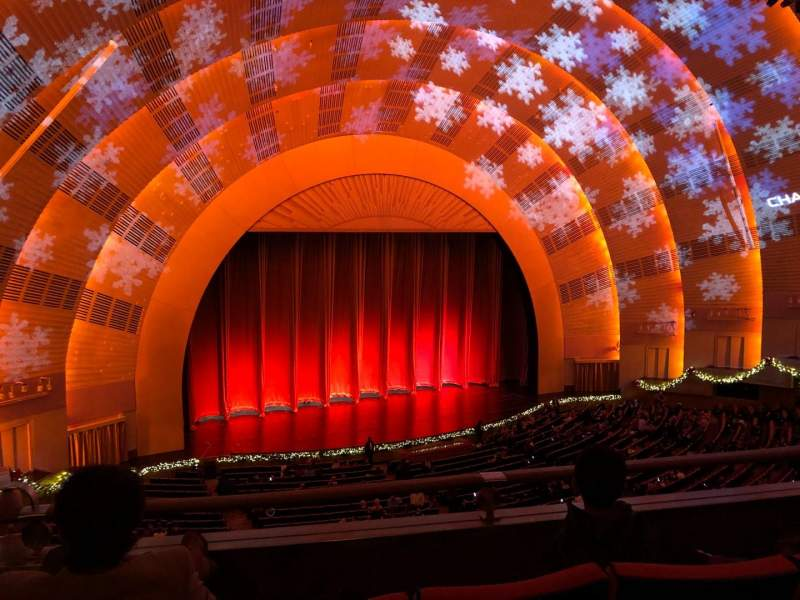 Seating view for Radio City Music Hall Section 2nd Mezzanine 6 Row C Seat 614