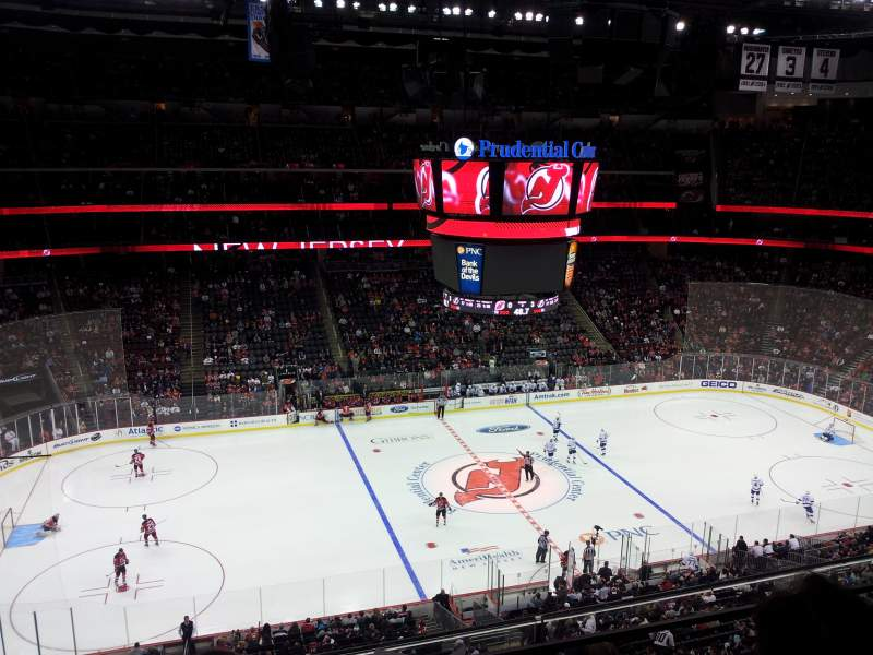 Seating view for Prudential Center Section 127 Row 2 Seat 11
