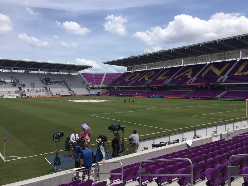 Orlando City Stadium, section: 7, row: K, seat: 8