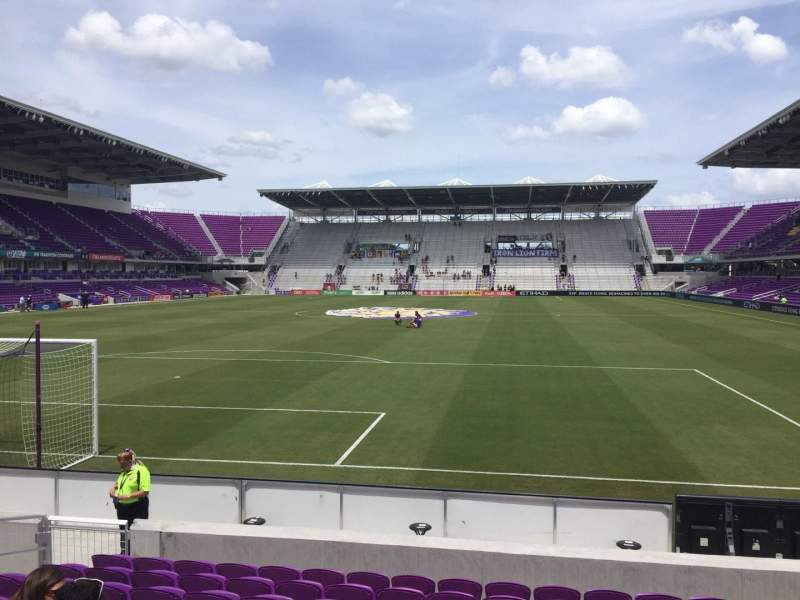 Seating view for Orlando City Stadium Section 3 Row K Seat 16