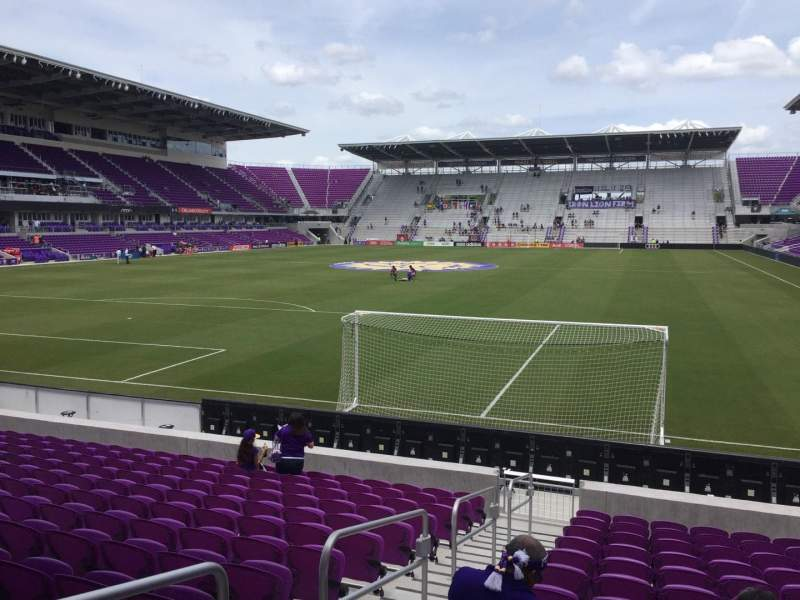 Seating view for Orlando City Stadium Section 2 Row N Seat 22