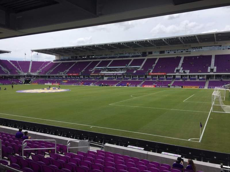 Seating view for Orlando City Stadium Section 30 Row M Seat 2