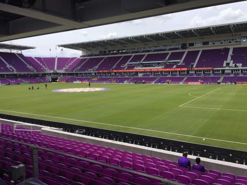 Seating view for Orlando City Stadium Section 31 Row M Seat 02