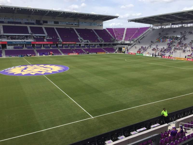 Orlando City Stadium, section: 135, row: B, seat: 3