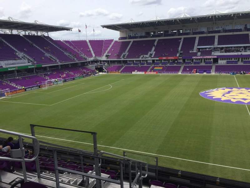 Seating view for Orlando City Stadium Section 135 Row H Seat 23