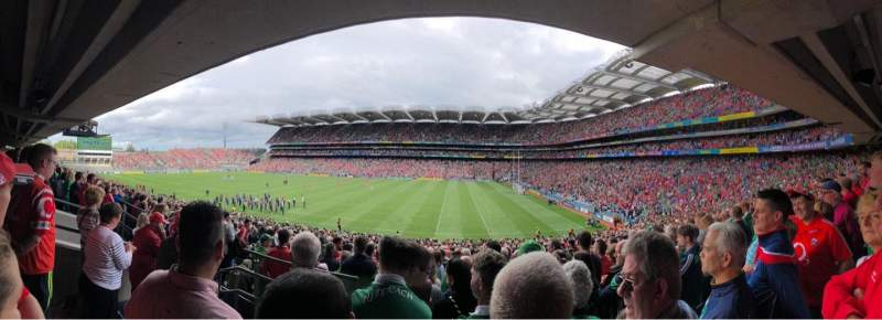 Seating view for Croke Park Section 328 Row PP Seat 11