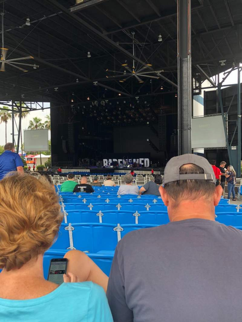 Seating view for iThink Financial Amphitheatre Section 5 Row W Seat 36