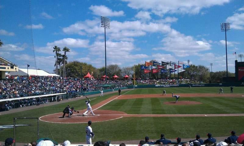 Champion Stadium, section: 110, row: N, seat: 6