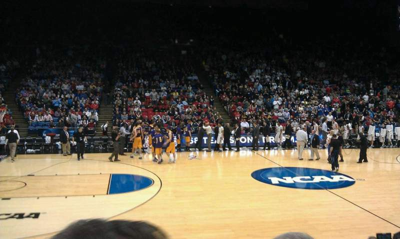 Seating view for University Of Dayton Arena Section 105 Row I Seat 13