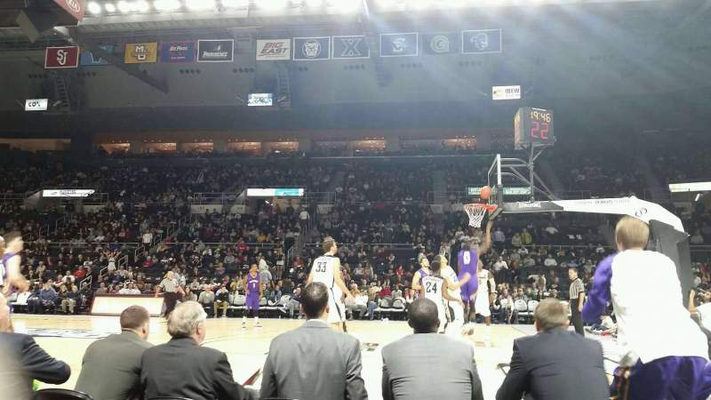 Dunkin' Donuts Center, section: 121, row: CC, seat: 1