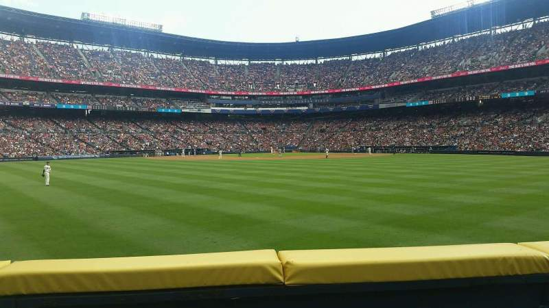 Seating view for Turner Field Section 148L Row 13 Seat 109
