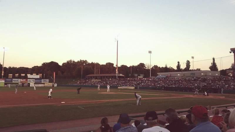 Joseph L. Bruno Stadium, section: 230, row: H, seat: 1
