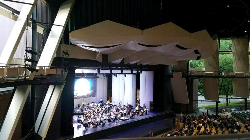 Seating view for Saratoga Performing Arts Center Section 19 Row A Seat 14